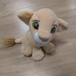 The lion king nala plush